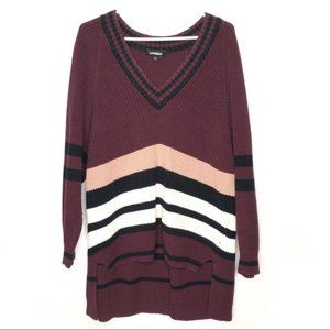 Express High Low Knit Sweater